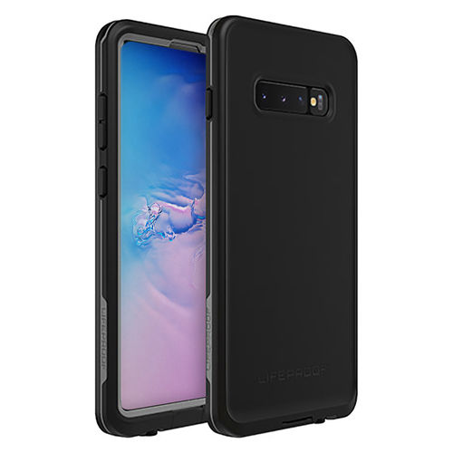 LifeProof Fre Waterproof Case for Samsung Galaxy S10+ (Asphalt Black)